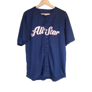 Match Up Promotions Shirts - Baseball Jersey 13 All Star XL